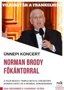Világsztár a hanukai koncerten @ Budapest   Magyarország